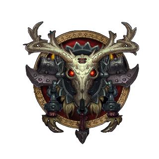 World Of Warcraft Hunter Class Icon The Hunters Are The Main Ranged Class In The World Of Warcraft They World Of Warcraft Game Emblems Warcraft Art