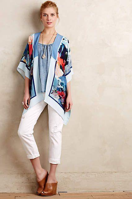 e112378a1f Blank Painted Flora Kimono - anthropologie.eu