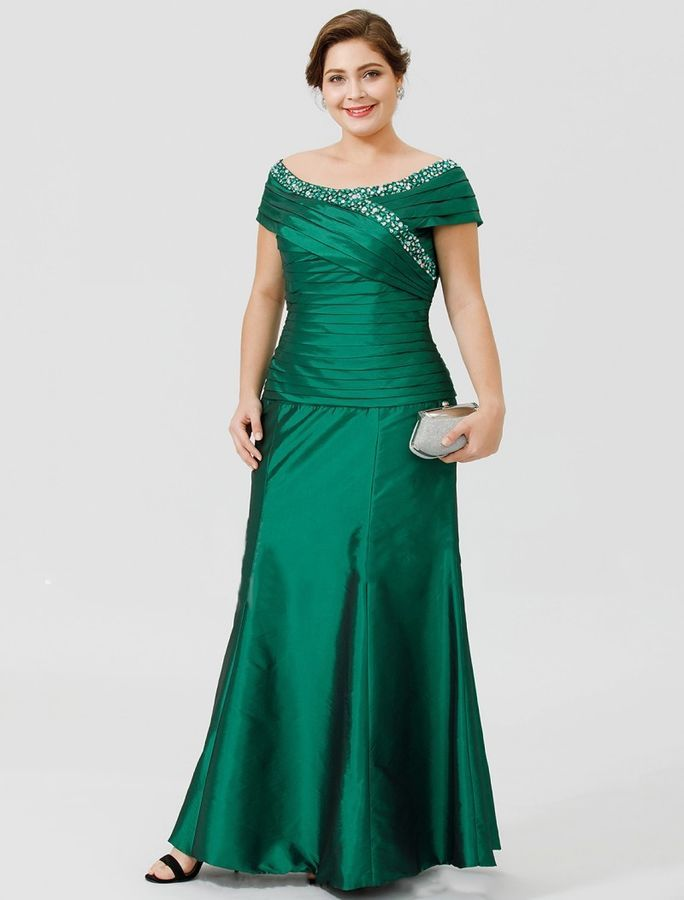 10e6fc96f97 Crystal Mother of the Bride Dresses Plus Size Cap Sleeve Evening Party Gowns  NEW#Dresses#Size#Bride