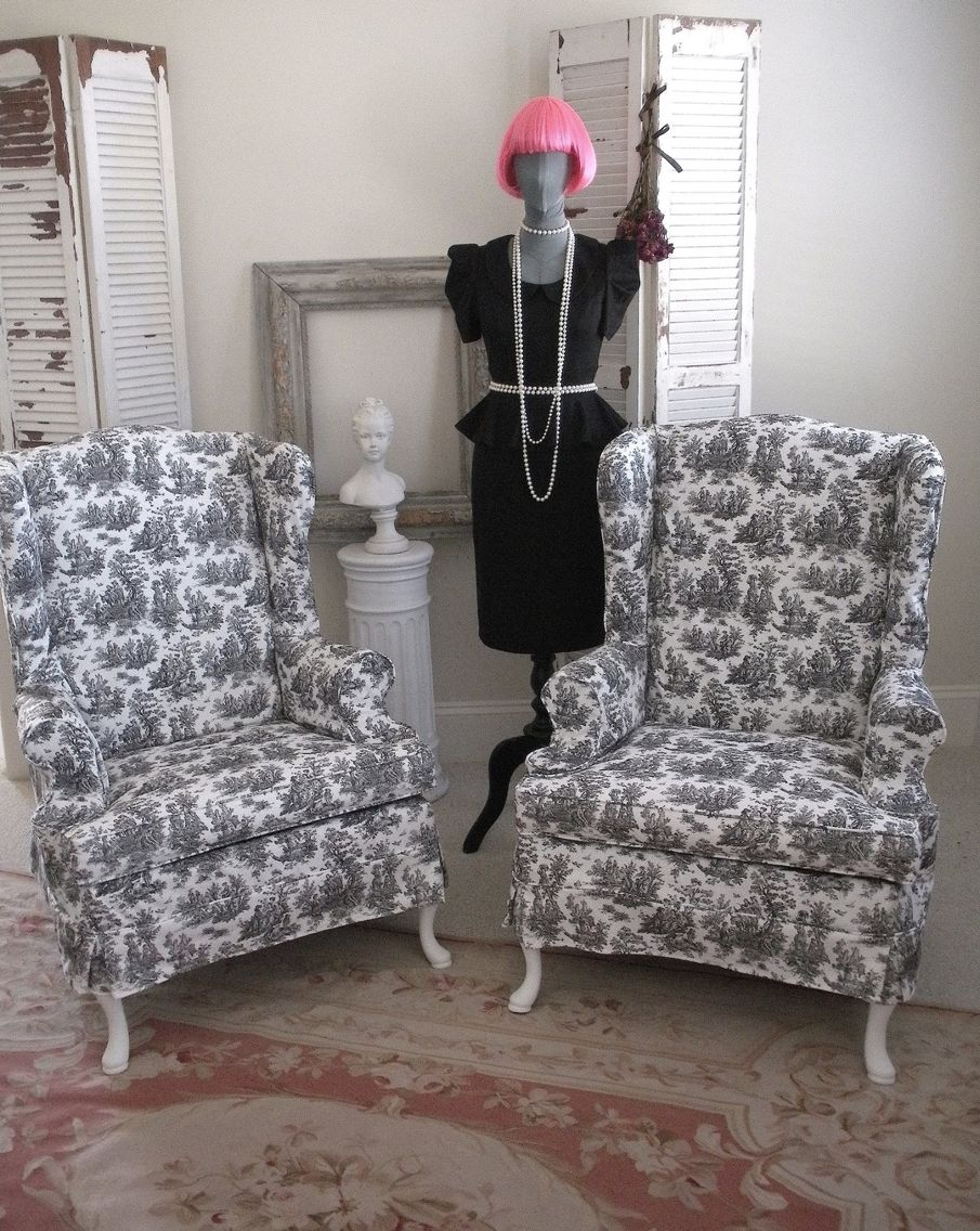 Toile Chairs Chair, New room