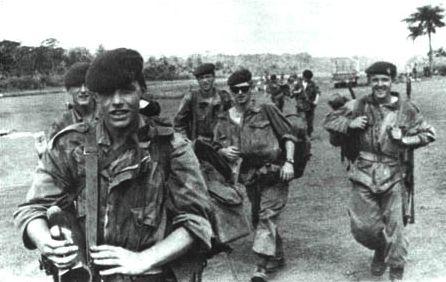 Victorious Belgian Paratroopers In The Belgian Congo After Operation Dragon Rouge 1964 Congo Crisis Belgian Congo Congo