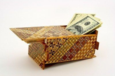 Japanese Puzzle Box Great Way To Wrap A Gift Card Diy Gift