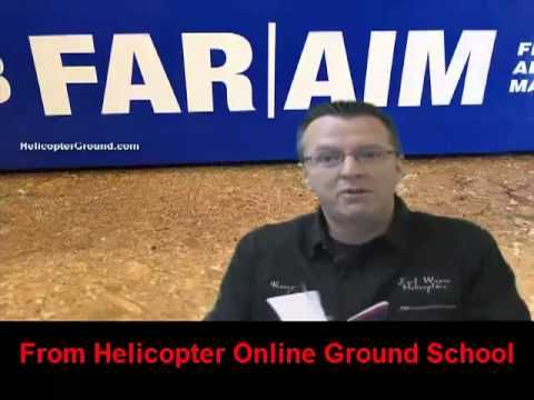 FAR\/AIM Part 67 Pilot Medical Certificate Helicopter Training - medical certificate