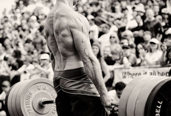 Wallpaper muscles, barbell, athlete, crossfit games
