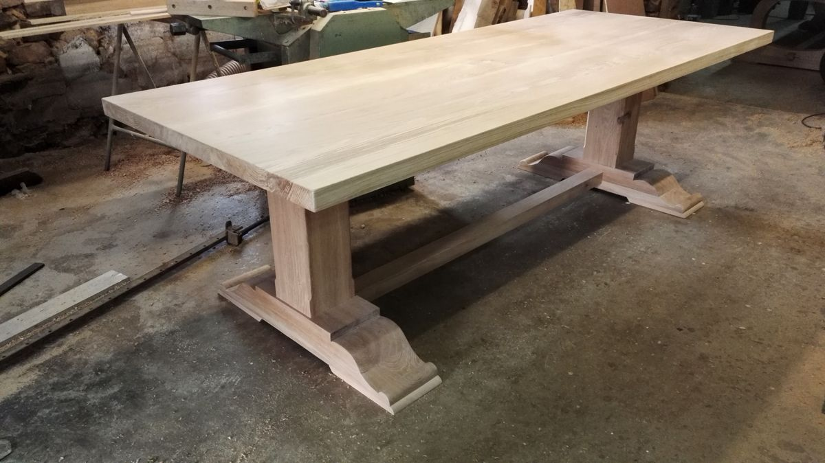 Bespoke Dining Tables With Images Handmade Oak Dining Table