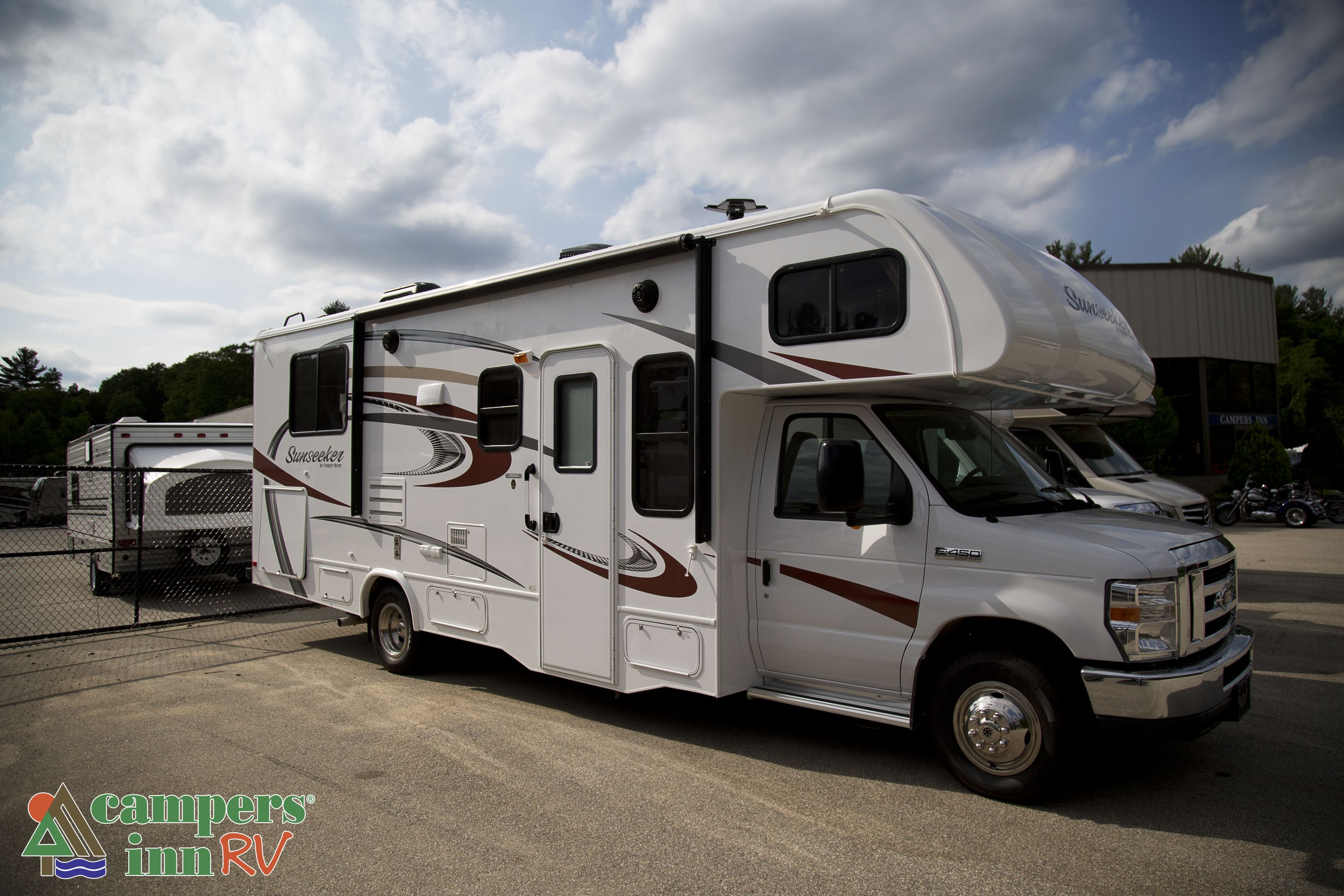 The New 2016 Forest River Sunseeker 2500ts Ford Class C Motorhome