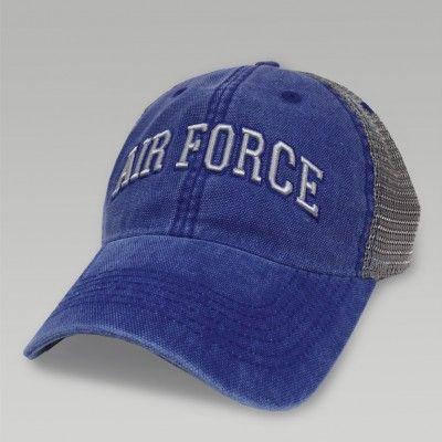 Air force dashboard trucker hat (royal/grey) | Air Force