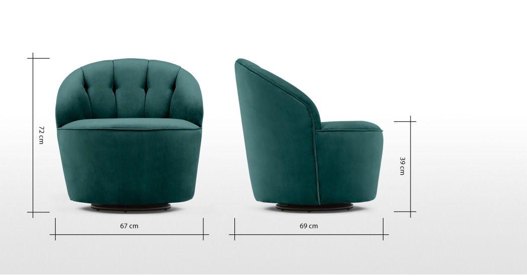 Magnificent Margot Swivel Accent Chair Peacock Blue Velvet In 2019 Dailytribune Chair Design For Home Dailytribuneorg