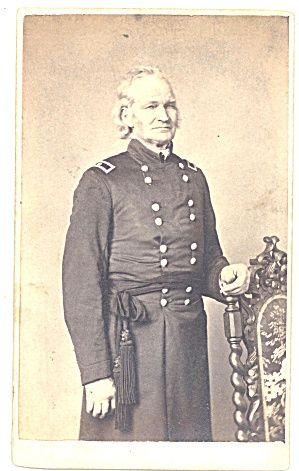 Easton Pennsylvania Civil War General Cdv Photo Civil War
