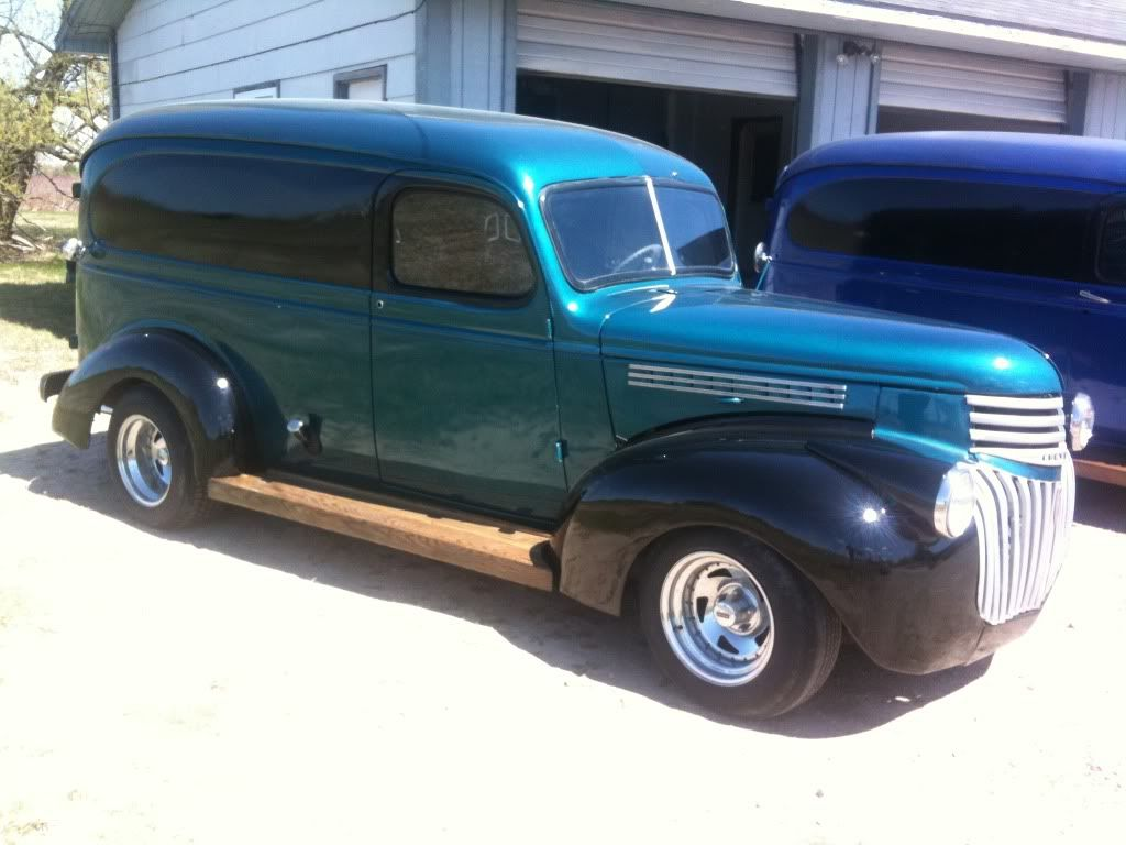 1946 Chevy Panel Truck FOR SALE! | delivery van | Pinterest | Cars ...