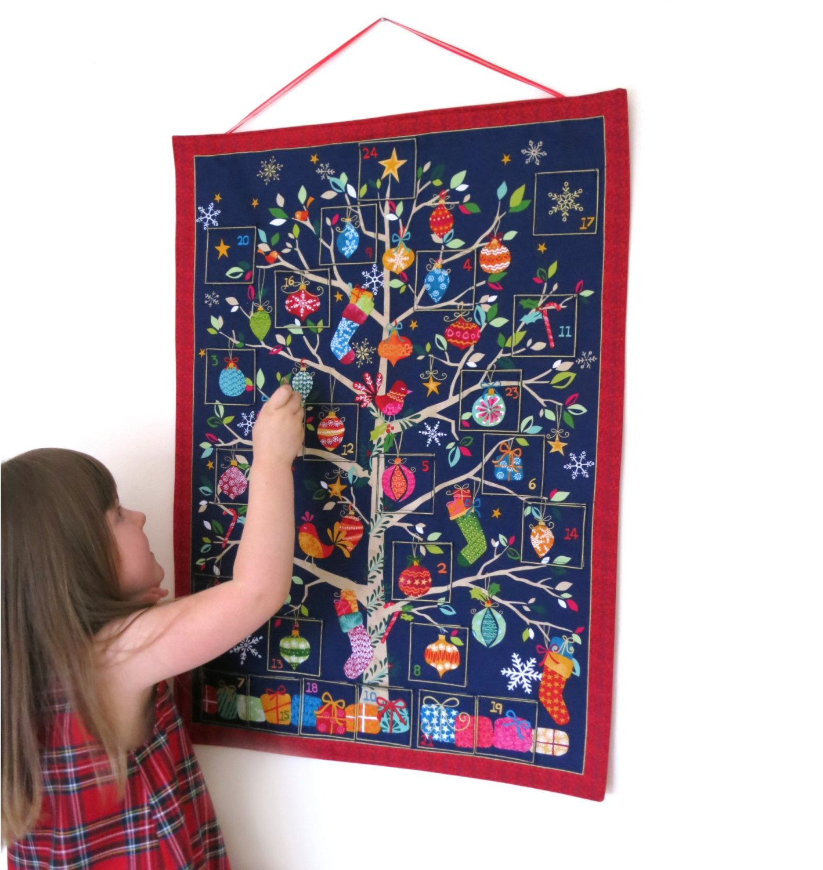 Fabric Advent Calendar Advent Calendars Reusable Advent Calendar