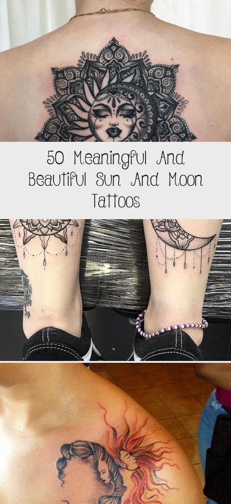 Photo of 50 tatouages significatifs et beaux soleil et lune – tatouage
