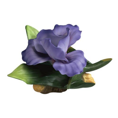 Andrea by Sadek Purple Iris Figurine Sadek…