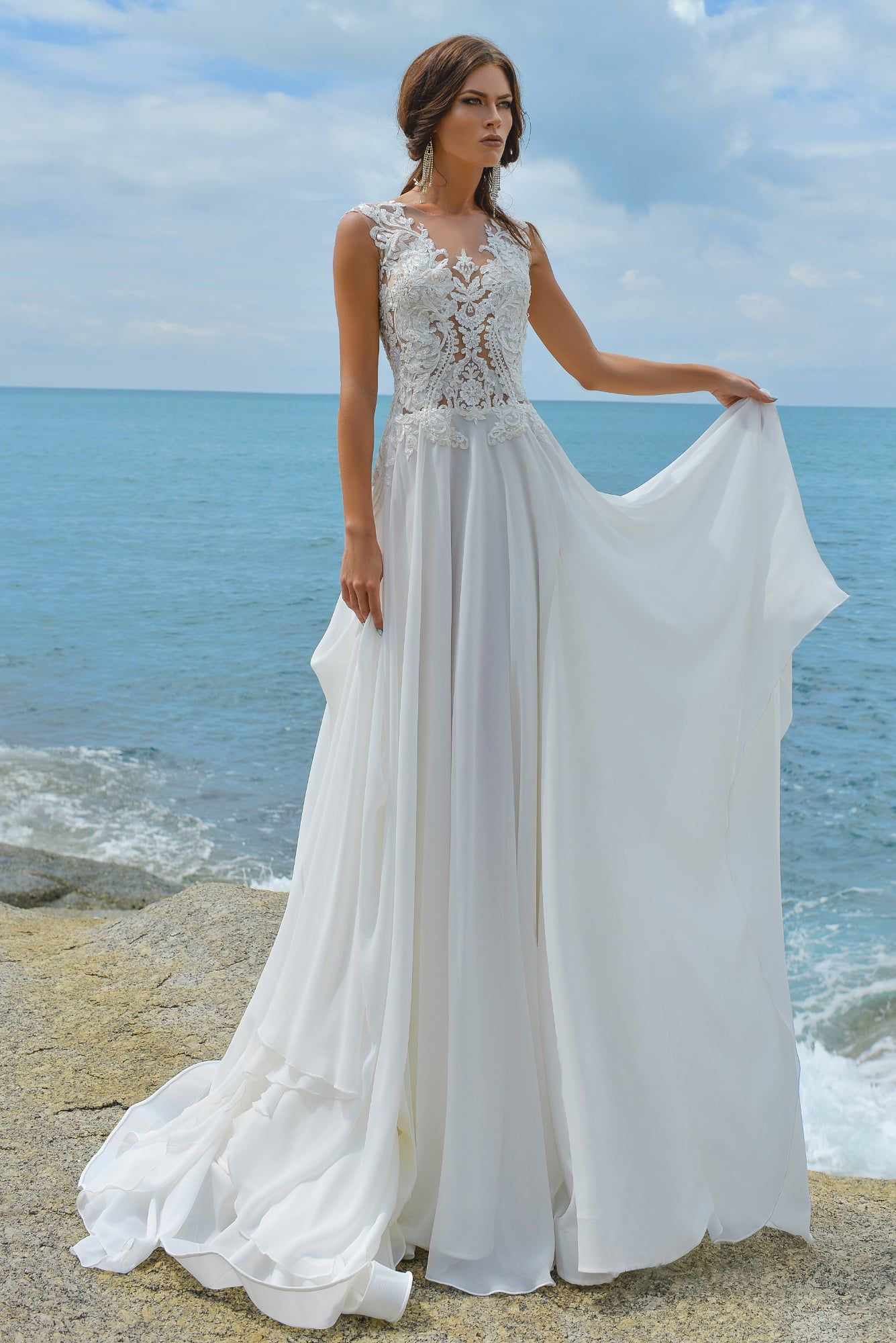 FELOMENA wedding dress by European couture STREKKOZA in Charmé Gaby ...