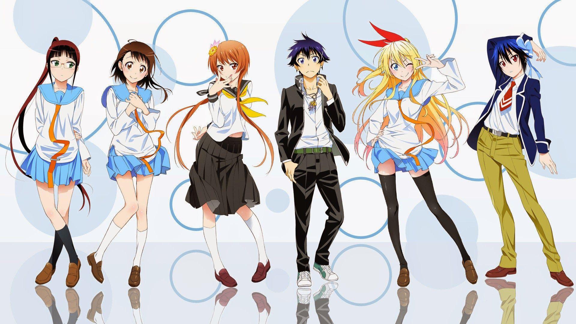 Nisekoi Tapety Full Hd Animeholik Blog Fana Anime Nisekoi Wallpaper Nisekoi Manga Vs Anime