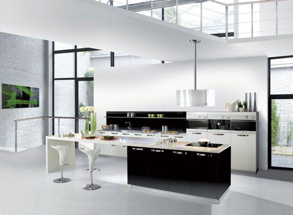 Idea design cucina bianca e nero, le foto | Design cucine ...