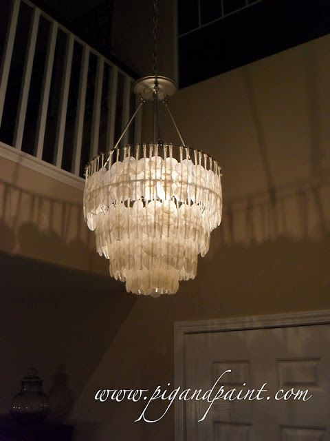 How to make a diy capiz shell chandelier capiz shell chandelier how to make a diy capiz shell chandelier aloadofball Choice Image