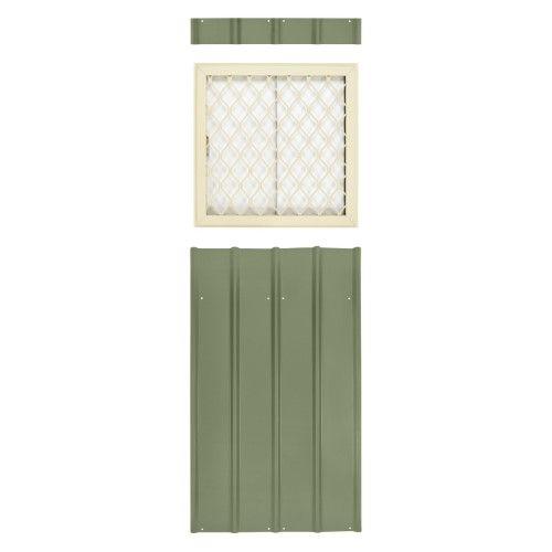 SHED PLAYHOUSE WINDOW-18X36-WHITE-J-LAP