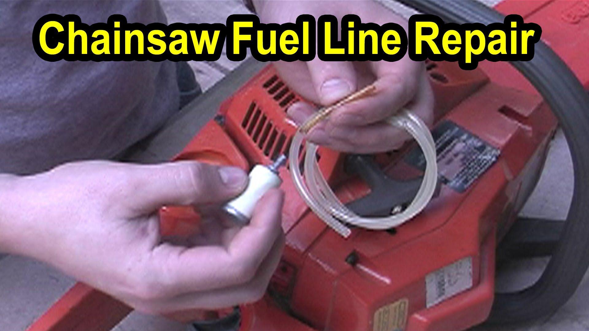 Chainsaw Fuel Line Repair Husqvarna Model 141 Lawn Mower