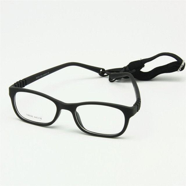 0f170f3854 Flexible Kids Eyeglasses Frame Size 44 16 TR90 Children Glasses