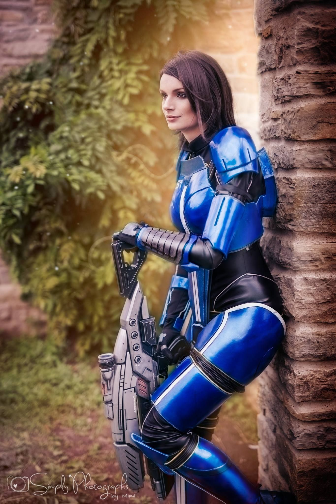 Ashley Williams - Mass Effect Cosplay 2014 by masimage on