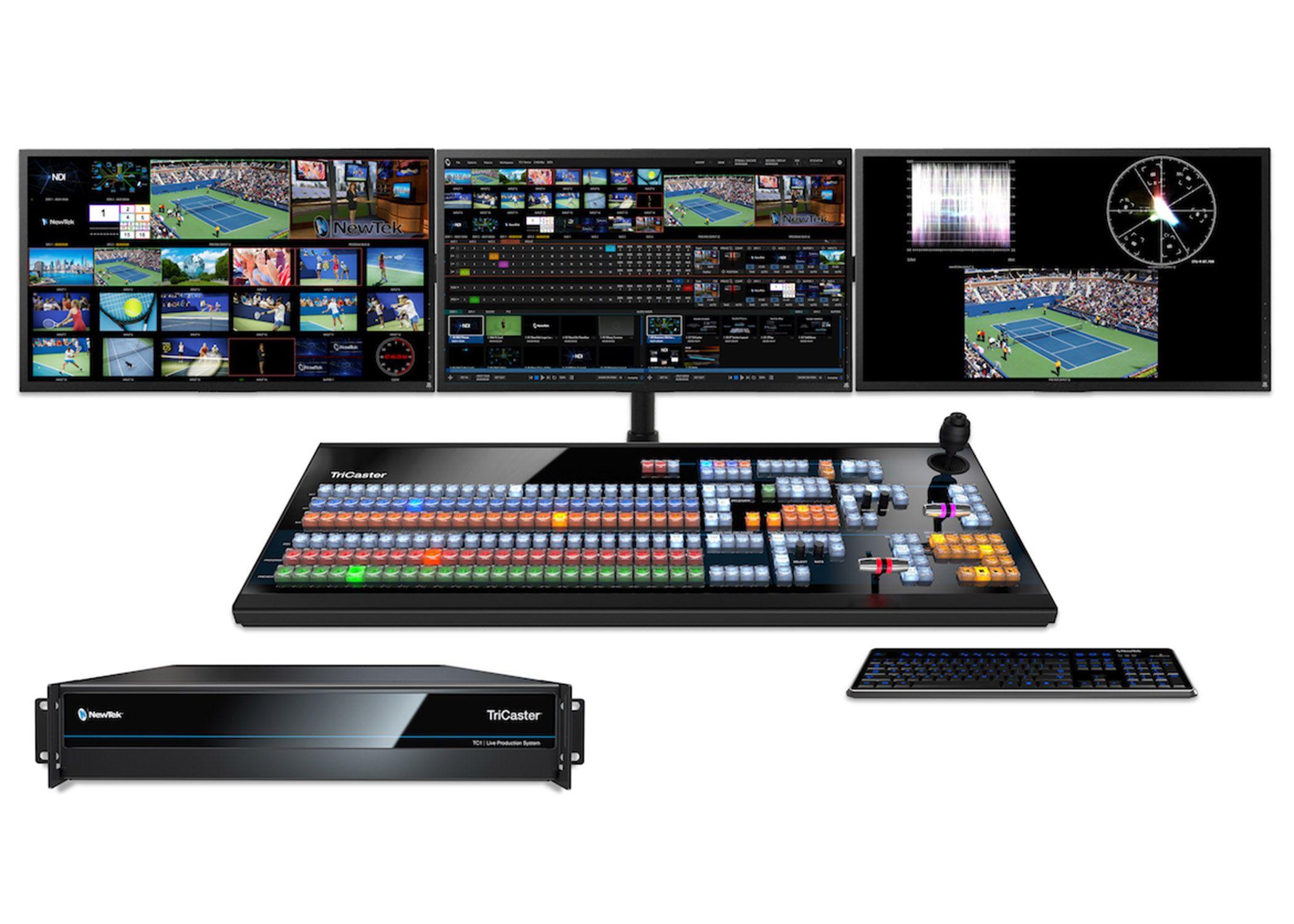 Newtek Tc 1 Amitrace Newtek Video Servers Greenscreen