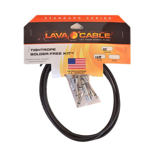 lava cable tightrope solder free kit lctrktb guitar parts and stuff cable soldering guitar. Black Bedroom Furniture Sets. Home Design Ideas