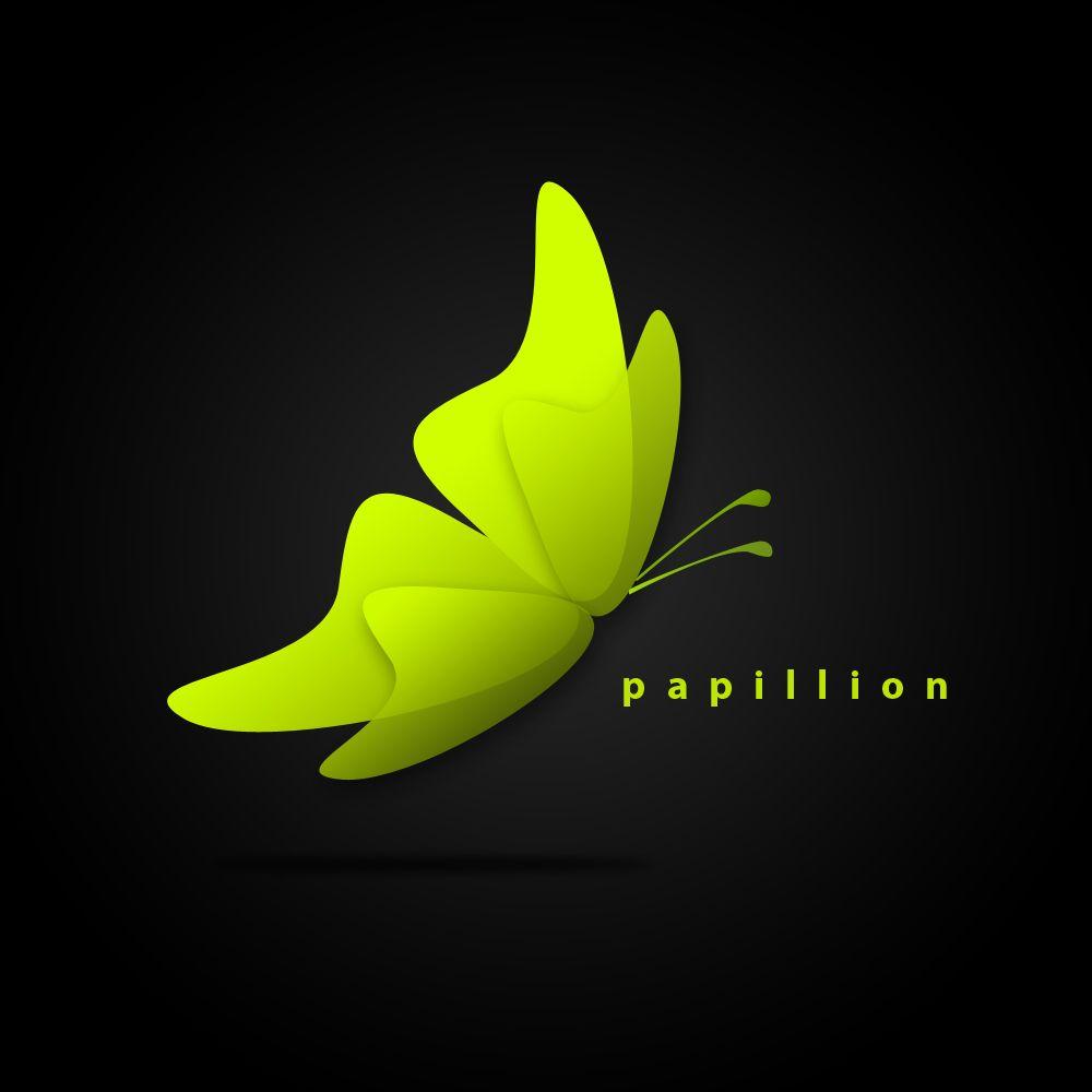 graphic design papillion logo