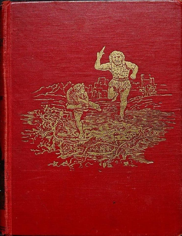 Henry justice ford cover design for the red fairy book
