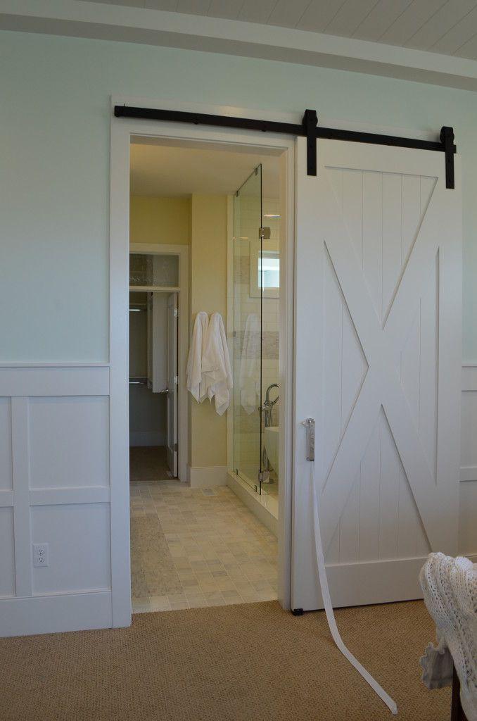 10 Barn Door Designs For Any Style Home   Bathroom Doors Master Delectable Bathroom Barn Door Review