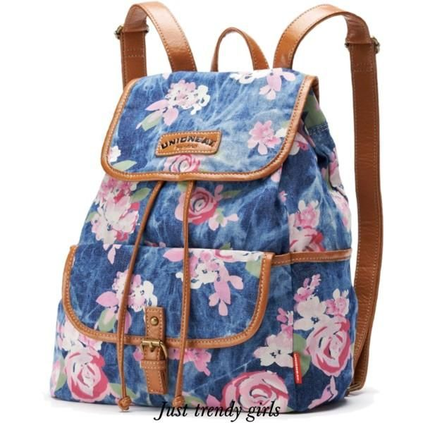 Denim backpacks Trendy backpacks for girls http//www.justtrendygirls.com/trendy-backpacks-for ...