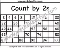 Skip Counting by 2 – Count by 2s