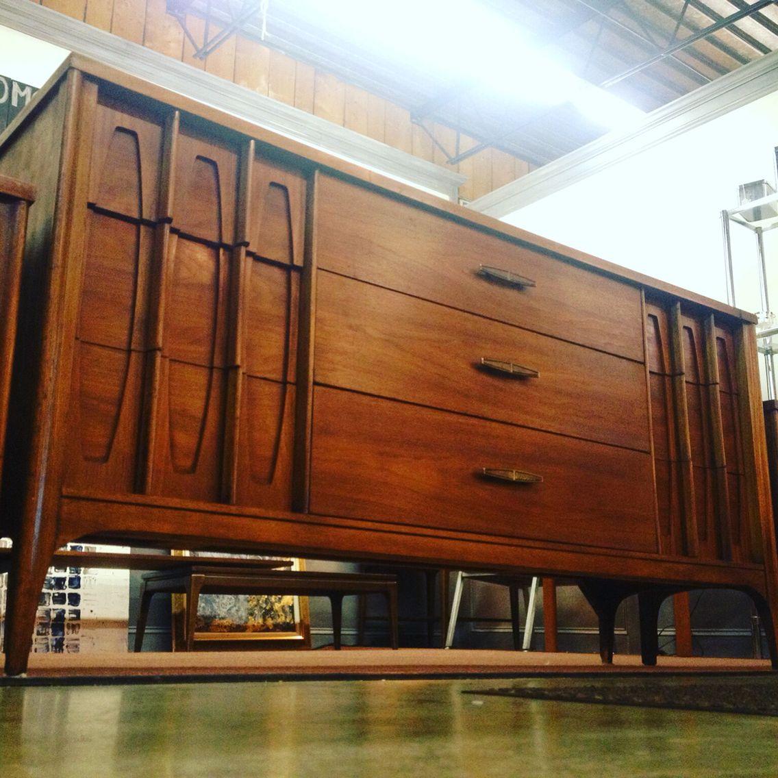 Best Kent Coffey Mid Century Modern Walnut And Rosewood Dresser 400 x 300