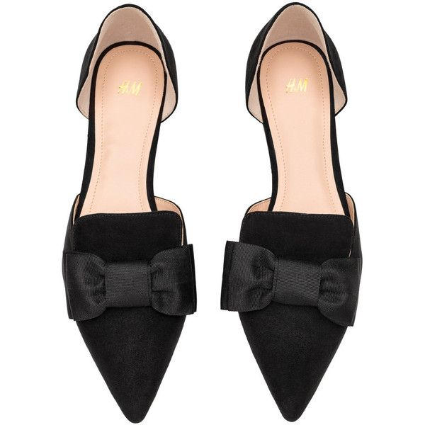 maen-girl-black-flats-with-bows