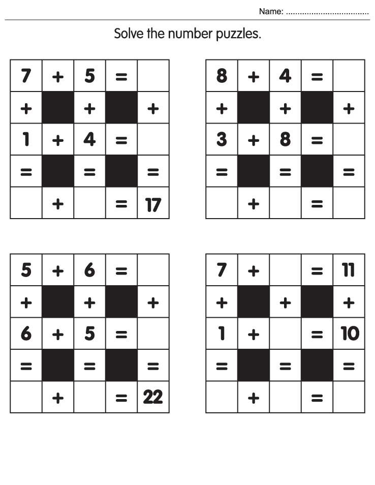 number puzzles for kids math puzzle worksheets738 x 954 45 kb jpeg – Maths Puzzles Worksheets
