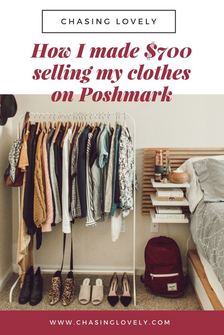 How i made over 2000 selling my clothes on poshmark