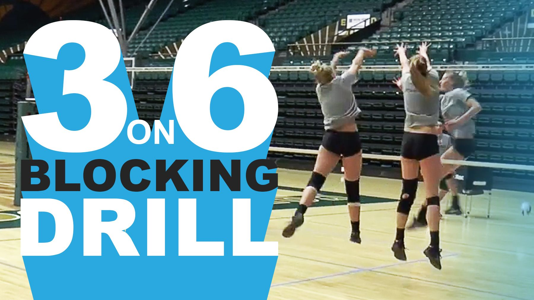 Bolster Defense With 3 On 6 Blocking Drill The Art Of Coaching Volleyball Coaching Volleyball Volleyball Skills Volleyball Training