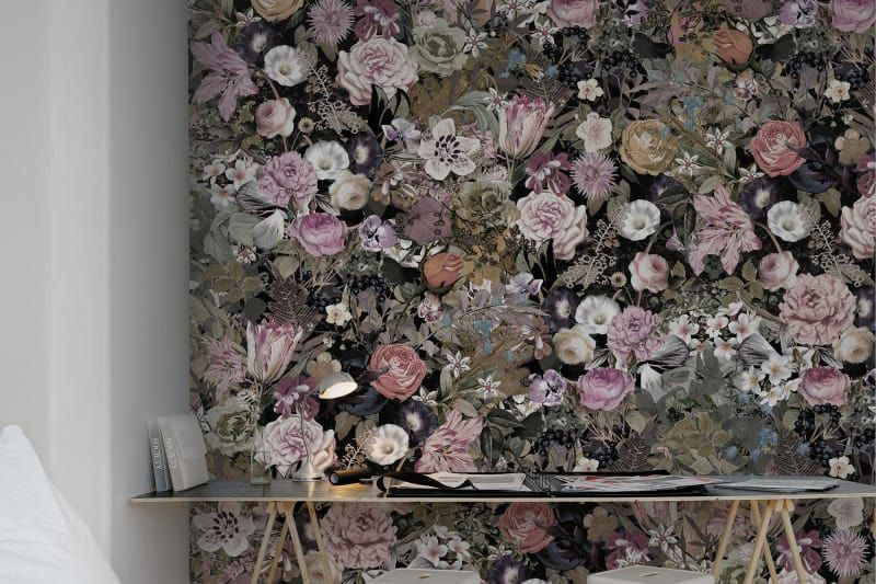 Meadow Diy Wall Wall Murals Flowers
