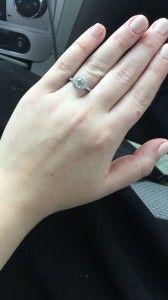 Engaged Diamond Engagement Rings Diamond Education Wholesale Diamonds
