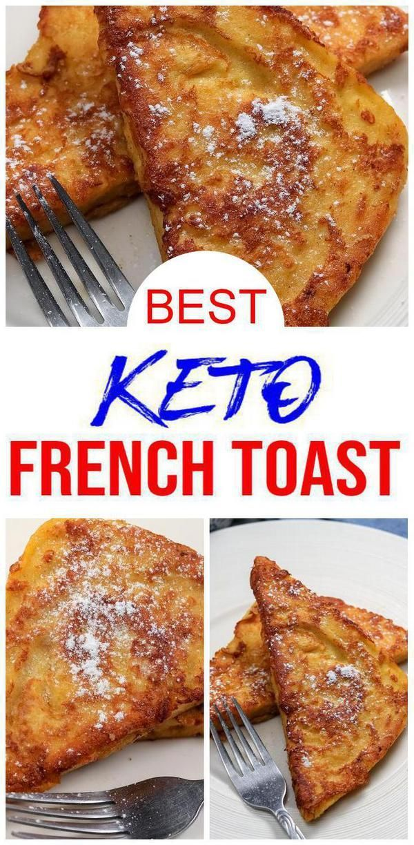 Photo of {Keto French Toast} Easy simple ingredient french toast 90 second microwave brea…