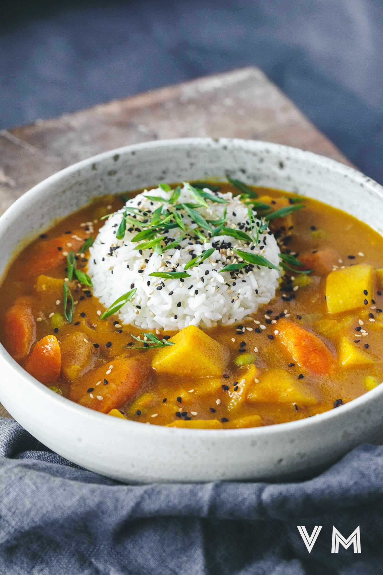Vegan Japanese Curry Vegan Miam Vegan Japanese Curry Recipe Curry Recipes Japanese Curry