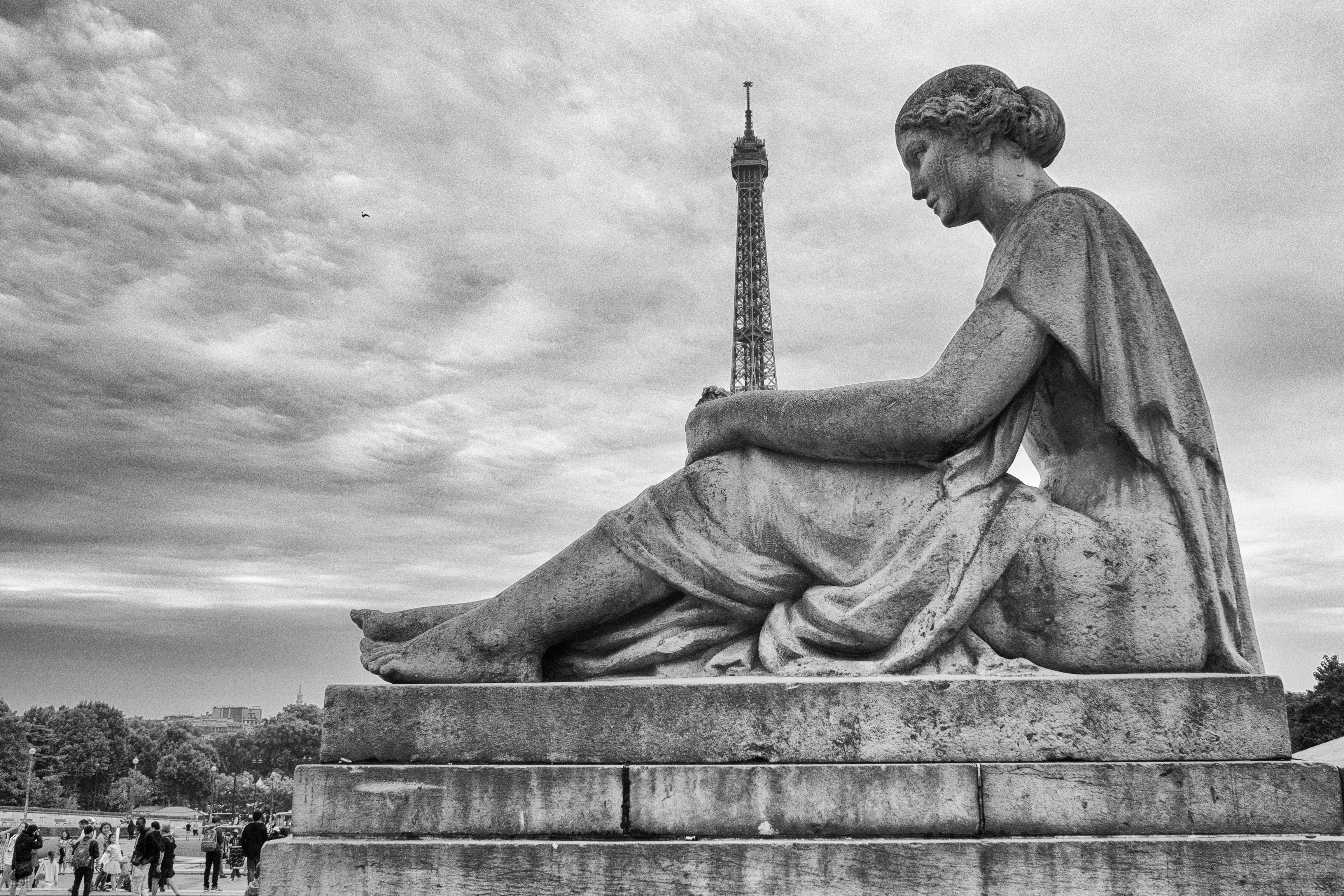statue à la Tour