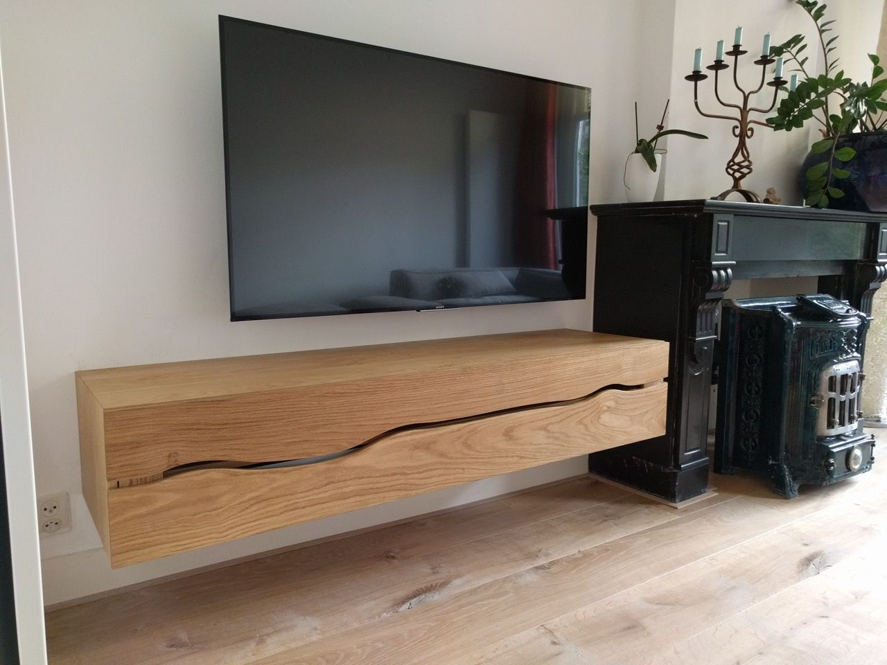 Tv Kasten Ikea Tv-meubel, Dressoir, Wandkast Of Buffet. Mooi Elegant