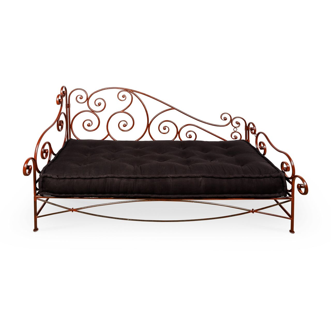 - Moroccan Wrought Iron Day Beds Outdoors Hand Crafted $1495
