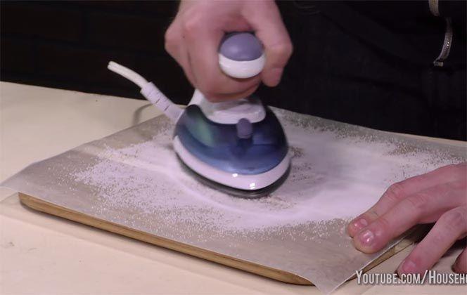 Como limpiar la plancha