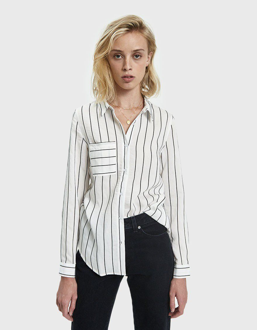 37b7c33b Dessey Striped Button Down Shirt | Clothes | Buttons, Button down ...
