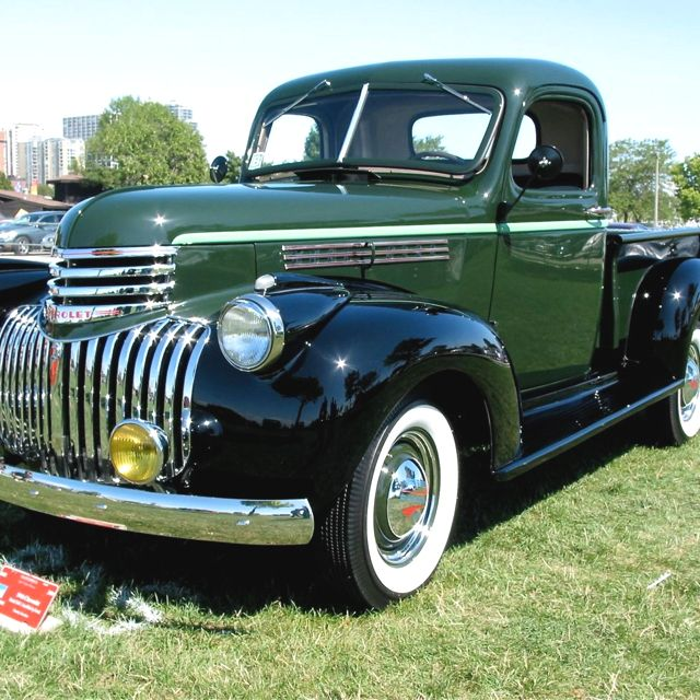 1946 Chevrolet 1 2 Ton Pickup Www 46chevytruck Com Old Pickup