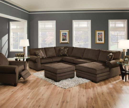 Swell Bronson 3 Piece Sectional Levin Furniture Completed Machost Co Dining Chair Design Ideas Machostcouk
