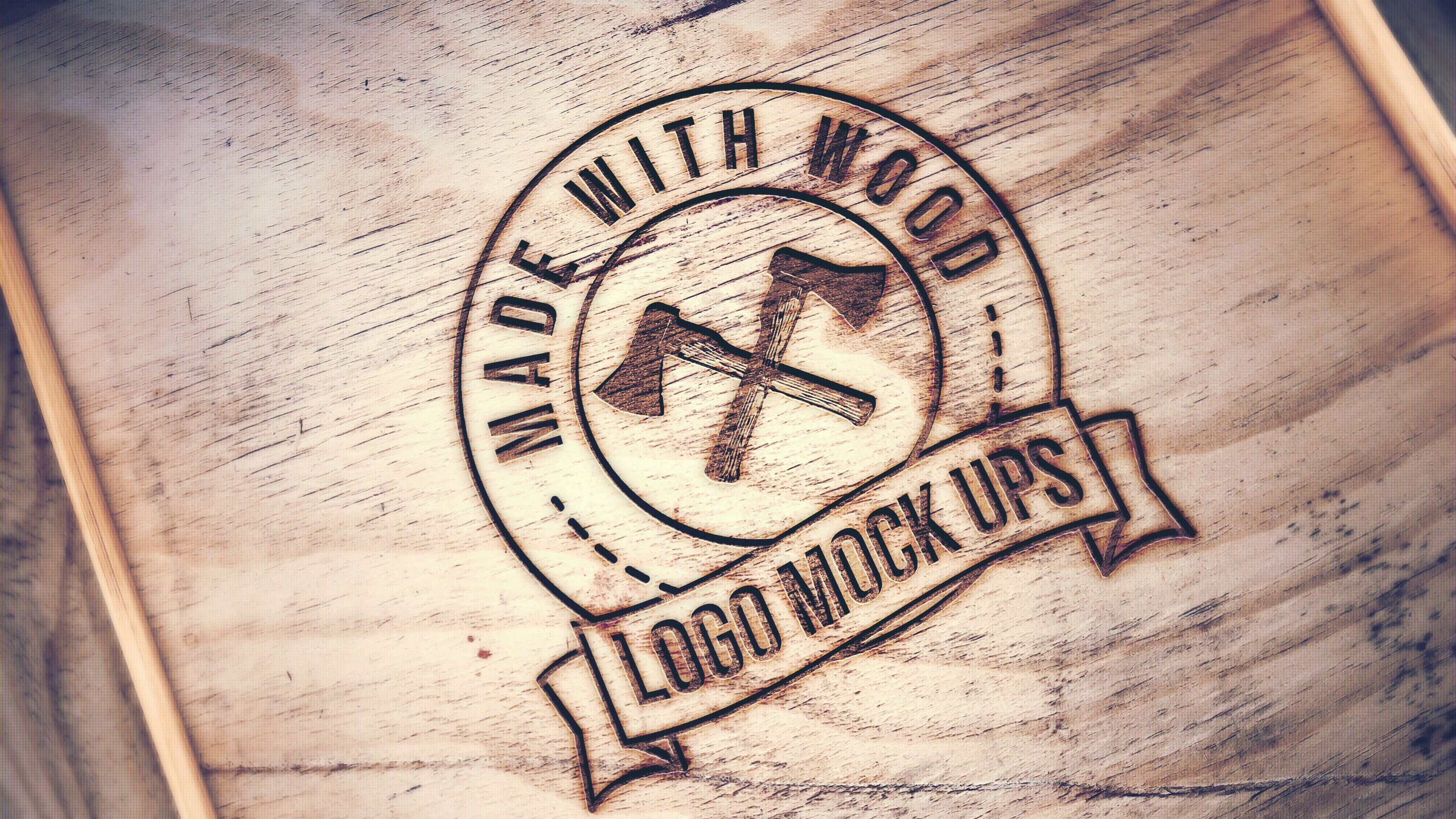 afterfx1 engraved Your Logo into Wood for 5, on fiverr