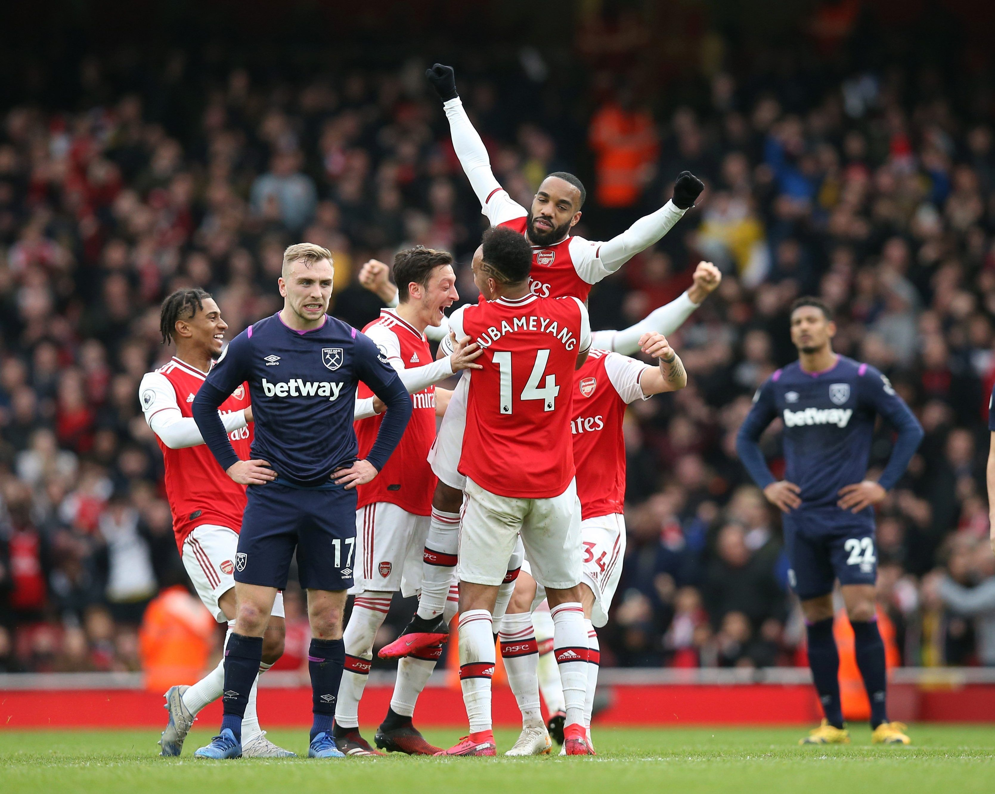 Premier League Results Var Rescues Arsenal To Keep Champions League Hopes Alive Sheffield United Close In On Top Four W In 2020 Champions League Premier League League